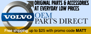 Volvo Parts - free shipping up to $25